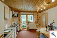 Eat-in kitchen at Holiday House Birgit in Pettneu am Arlberg