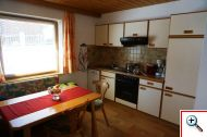 Eat-in kitchen in Apartment 10 at Holiday House Birgit in Pettneu am Arlberg