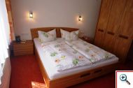 Bedroom in Apartment 10 at Holiday House Birgit in Pettneu am Arlberg